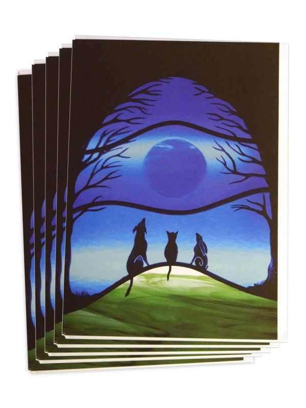 Firewolf Glass Pack of Cards