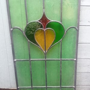 Firewolf Glass Antique Stained Glass Window 1